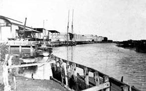 Historic Port Wakefield Wharf